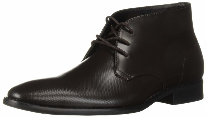calvin klein mens black dress shoes