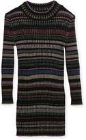 Milly Minis Metallic Striped Rib Dress, Size 8-14