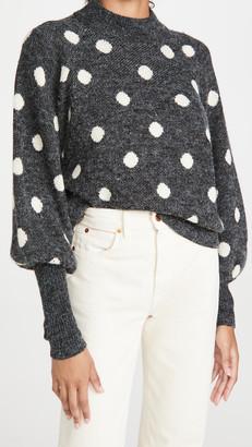 Blank Puff Sleeve Sweater