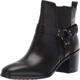 Sam Edelman Womens Dalma Black Vaquero Saddle Leather 9.5 M