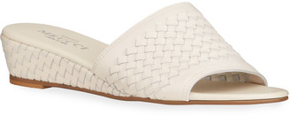 Sesto Meucci Grant Woven Wedge Comfort Sandals