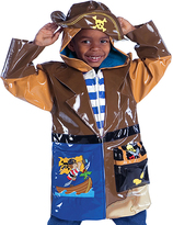 Kidorable Brown Pirate Raincoat - Infant Toddler & Boys
