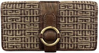 Givenchy Gold Cloth Wallets