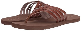 Flojos Elena (Tan/Natural) Women's Shoes