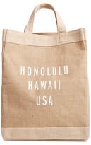 Apolis Honolulu Simple Market Bag - Brown