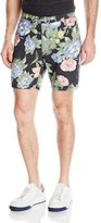 Barney Cools Men's Classic 17 Inch Fixed Waist Floral Shorts