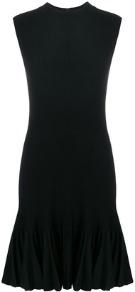Alaia Pre-Owned ruffled sleeveless dress