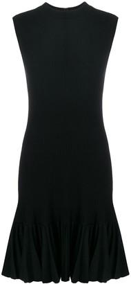 Alaïa Pre-Owned Ruffled Sleeveless Dress