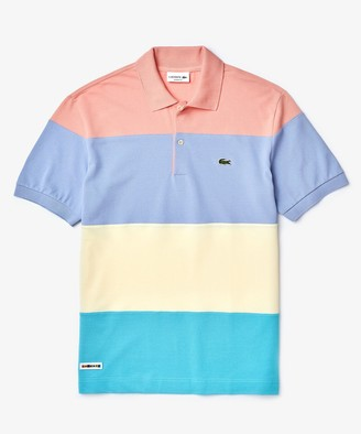 Lacoste Short Sleeve Colorblock Polo