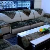 yayali Fall winter style leather sofa cushions Fabric seat cushion