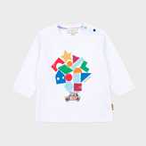 Paul Smith Baby Boys' White Mini-Shapes Print 'Madley' Top