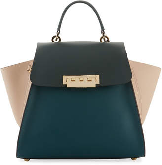 Zac Posen Eartha Colorblock Top-Handle Crossbody Bag