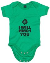Brand88 I Will HM01 You, Printed Baby Grow - 6-12 Months