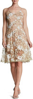 Dress the Population Anne Embroidered Lace Dress