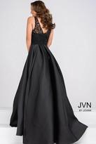 Jovani Beaded Sleeveless Pleated Skirt Dress JVN48836