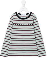 Familiar stripe and star print T-shirt
