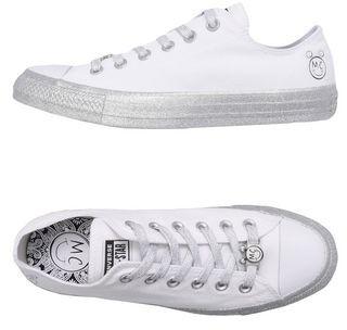 Converse CTAS OX WHITE/PURE PLATINUM/BLACK Low-tops & sneakers