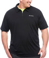 Columbia Co. Short Sleeve Solid Knit Polo Shirt Big and Tall