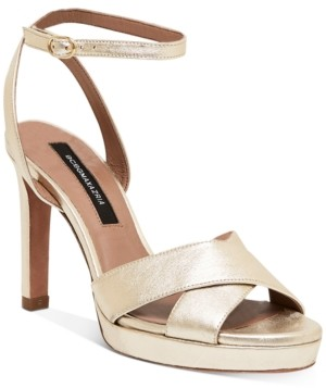 BCBGMAXAZRIA Leah Platform Dress Sandals Women's Shoes