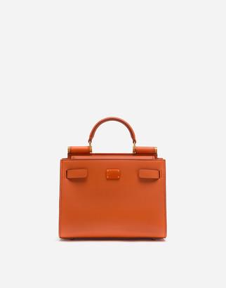 Dolce & Gabbana Small Calfskin Sicily 62 Bag