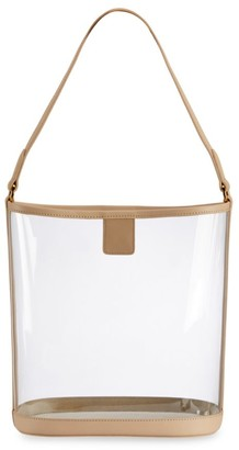 GiGi New York Game Day Collins Tuohy Smith x Gigi Virginia Leather-Trimmed PVC Hobo Bag