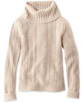 L.L. Bean Signature Alpaca-Blend Sweater, Cowlneck