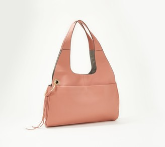 Vince Camuto Leather Hobo Handbag - Margi