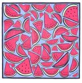 Anna Coroneo 'Pineapple Bella' silk chiffon scarf