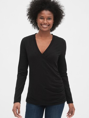 Gap Maternity Crossover Nursing Top