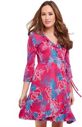 Joe Browns Distinctly Different Dress - Fuchsia