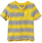 Old Navy Striped V-Neck Tee for Toddler Boys