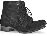 NDC Sunday metallic-finished leather ankle boots