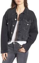 Hudson Women's Rei Crop Oversize Denim Jacket