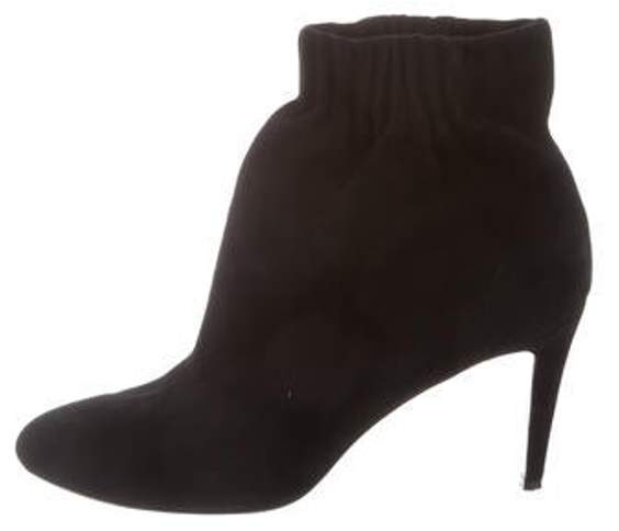 Pierre Hardy Suede Ankle Boots Black Suede Ankle Boots