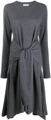 J.W.Anderson Tie Front Merino Knitted Dress