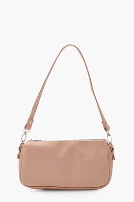 boohoo Smooth PU Under Arm Bag