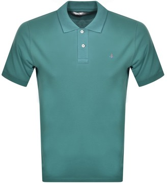 Vivienne Westwood Classic Polo T Shirt Green