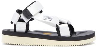 Suicoke Depa-v2 Velcro-strap Sandals - White