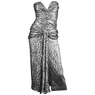 N. Non Signé / Unsigned Non Signe / Unsigned \N Silver Synthetic Dresses