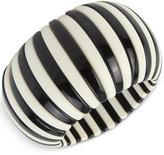 INC International Concepts IRIS X Striped Acrylic Stretch Bracelet, Only at Macy's
