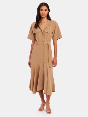 A.L.C. Emma Belted Midi Dress