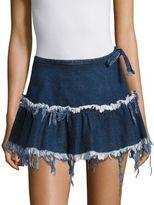 Marques Almeida Marques'Almeida Frayed Mini Skirt