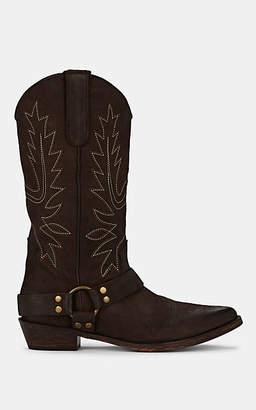 FiveSeventyFive Women's Western Leather Knee Boots - Brown