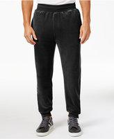 Sean John Men's Big & Tall Velour Track Pants