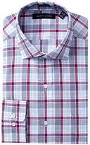 Tommy Hilfiger Regular Fit Plaid Dress Shirt