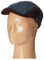 Original Penguin Wool Herringbone Driving Cap