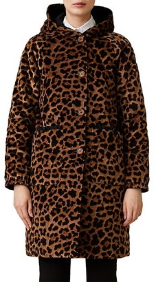 Jane Post Reversible Hooded Winter Coat