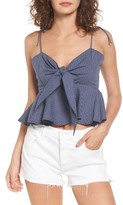 Faithfull The Brand Women's Pina Colada Tie Peplum Camisole