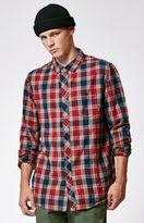 Billabong Jackson Plaid Long Sleeve Button Up Shirt