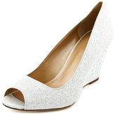 Style&Co. Style & Co. Style & Co Cecelie Women US 7 Blue Peep Toe Wedge Heel